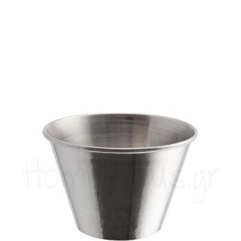 Μπολ Σάλτσας [340 ml] Inox Ασημί|GenWare