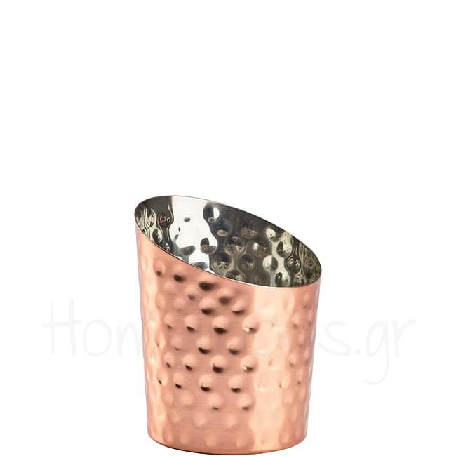 Julep Cup ANGLED Hammered 42 cl Inox Χάλκινο|GenWare