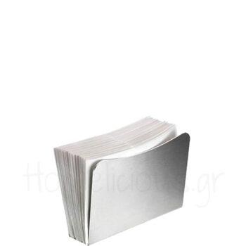 Χαρτοπετσετοθήκη WAVE [11,5|8,5 cm] Μέταλλο Ασημί|Pintinox
