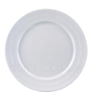 Πιάτο Ρηχό LIZBON Πορσελάνη Λευκό|Gural