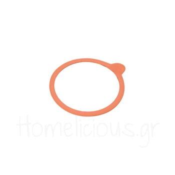 Αντ/κό Φ10 cm (10 Τεμ) Λάστιχο Πορτοκαλί Weck