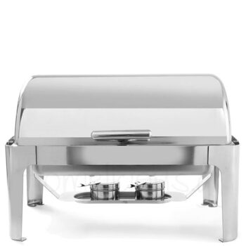 Bain-Marie ROLL-TOP 180 1/1 9 lt Inox Ασημί|Hendi