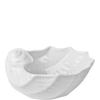 Μπολ Σαλάτας SHELL Πορσελάνη Λευκό|Gural