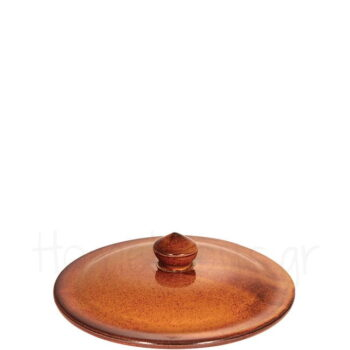 Καπάκι Για Γιουβετσάκι [Φ16 cm] Πυρίμαχο Καφέ|PKS