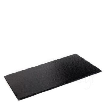 Πλατό Σερβ GN Φυσ Πέτρα Μαύρο|APS