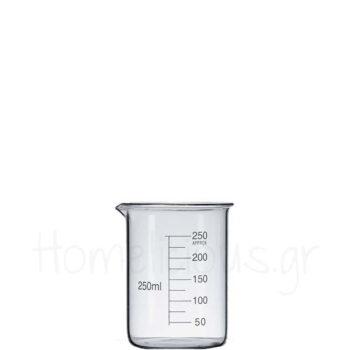 Δοχείο CHEMISTRY Μεζούρα [Κοντή] 25 cl Γυαλί Διάφανο|APS Bar Sup