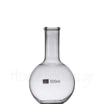 Φιάλη CHEMISTRY Μεζούρα [Σφαιρική] 500 ml Γυαλί Διάφανο|APS Bar