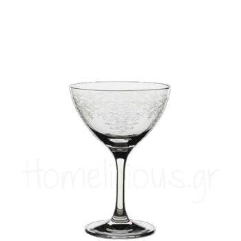 Ποτήρι Martini Vintage Lace 25 cl|Rona