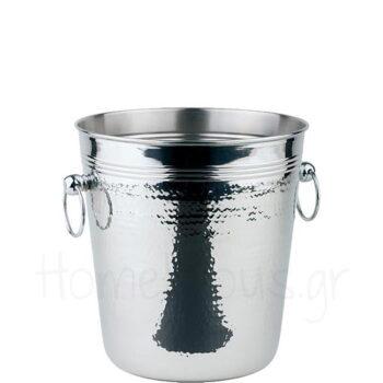 Σαμπανιέρα Σφυρήλατη [Φ21,5|21 cm] Inox Ασημί|APS