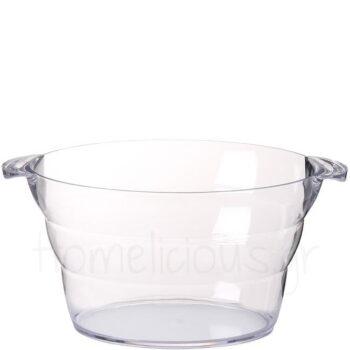 Σαμπανιέρα [47x29|23 cm] 10 lt Πλαστικό Διάφανο|Hendi