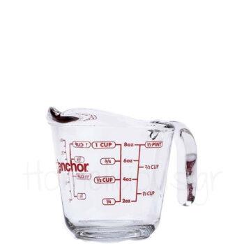 Κανάτα Μεζούρα (Πυρίμαχη) 250 ml Γυαλί Διάφανο Anchor