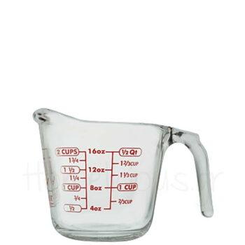 Κανάτα Μεζούρα (Πυρίμαχη) 500 ml Γυαλί Διάφανο Anchor