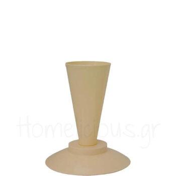Stand Για Σακούλες Ζαχ/κής [Φ19,5|23 cm] PP Μπεζ|De Buyer