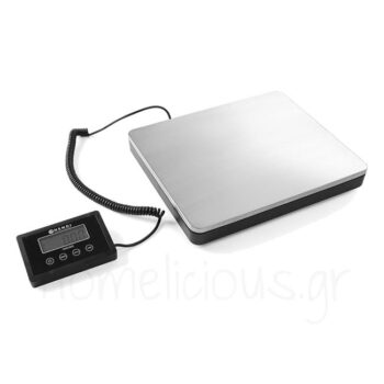 Ζυγαριά Ψηφιακή (100 kg/50 gr) [30x25,5|4,2 cm] Inox Ασημί|Hendi