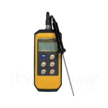 Θερμόμετρο Ψηφιακό Με Ακίδα [-50 έως +300] Πλαστικό Κίτρινο|Hend