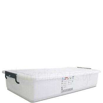 Δοχείο Αποθ FOOD [83x46 18 cm] 40 lt PE Λευκό Araven