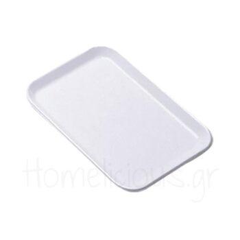 Δίσκος Display Ρηχός [42x30|1,2 cm] PE Λευκό|Araven