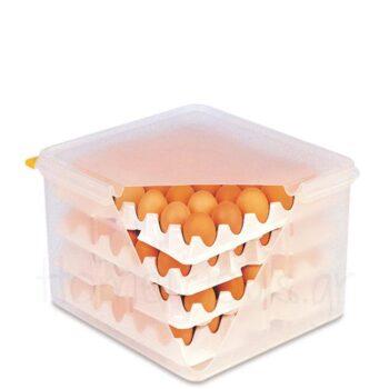 Δοχείο Αποθ Αυγών PE Διάφανο|Araven