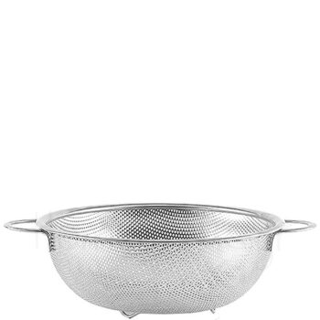 Σουρωτήρι Διάτρητο [Φ31,5|12 cm] Inox Ασημί|Hendi