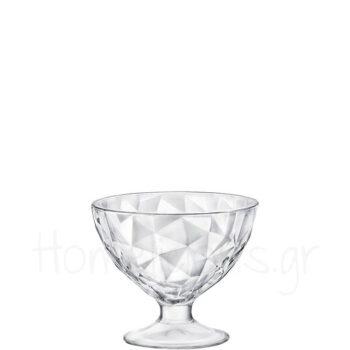 Ποτήρι Παγωτού DIAMOND [Διάφανο] [Φ11,1X9,9 cm] 36 cl|Bormioli R