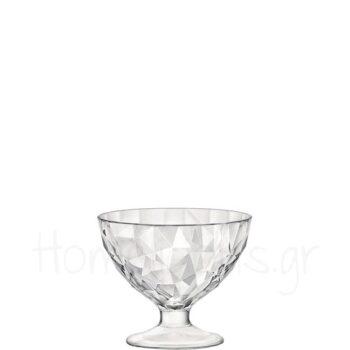 Ποτήρι Παγωτού DIAMOND [Διάφανο] 22 cl|Bormioli Rocco