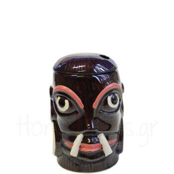 Tiki INDIAN 55 cl Κεραμικό Μαύρο|APS Bar Supply