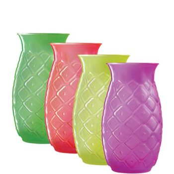 Tiki PINEAPPLE Pina Neon 4 Χρώματα 53 cl Γυαλί |APS Bar Supply