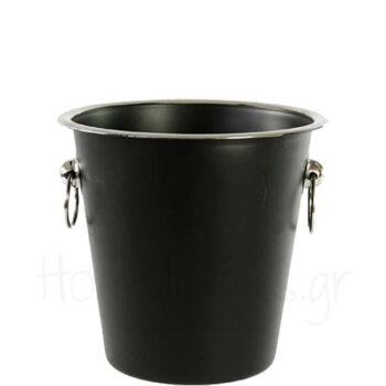 Σαμπανιέρα TUB [Φ21|21 cm] Inox Μαύρο|Cosy & Trendy