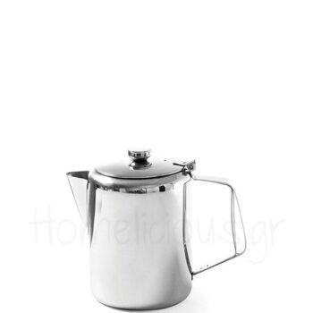 Καφετιέρα Σερβιρίσματος [Με Καπάκι] Inox Ασημί|Hendi