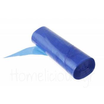 Σακούλα Ζαχ/κής Μίας Χρήσης (100 Τεμ) [51,5 cm] PE Μπλε Hendi