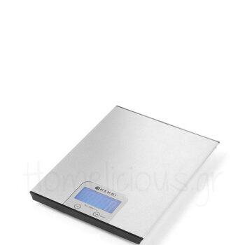 Ζυγαριά Ψηφιακή (5 kg/20 gr) [20x15,1|1,1 cm] Inox Ασημί|Hendi