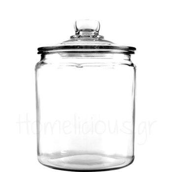Δοχείο Αποθ (Με Καπάκι) 7,6 lt Γυαλί Διάφανο Anchor