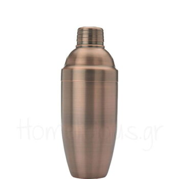 Shaker ANTIGUE 3 Τμημάτων 70 cl Inox Χάλκινο|Barfly