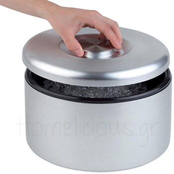 Παγοδιατηρητής [Φ18,5|20 cm] 5 lt Αλουμίνιο Ασημί|APS