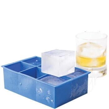 Καλούπι Πάγου Για (Κύβους 5x5 cm) Σιλικόνη Μπλε|Hendi