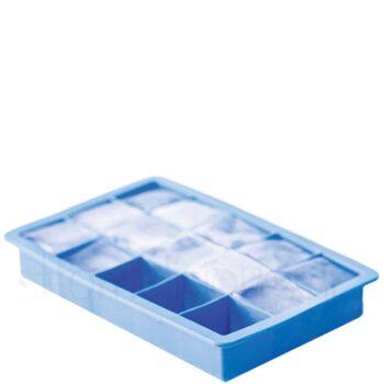 Καλούπι Πάγου Για (Κύβους 3x3 cm) Σιλικόνη Μπλε|Hendi