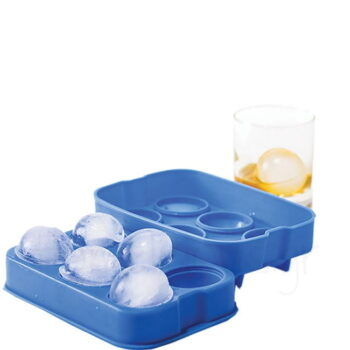 Καλούπι Πάγου Για (Σφαίρες Φ4,5 cm) Σιλικόνη Μπλε|Hendi