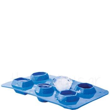 Καλούπι Πάγου Για (Διαμάντια) Σιλικόνη Μπλε|Hendi