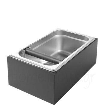 Knock Box (GN 1/4) [27,5x17,5|12 cm] Ξύλο Μαύρο|Hendi