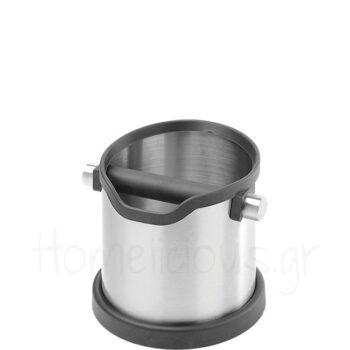 Knock Box [Φ15,3|16,5 cm] Inox Ασημί|Hendi