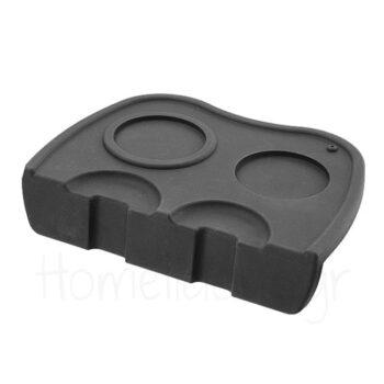 Tamping Mat [20,5x15|4,5] Σιλικόνη Μαύρο|Hendi