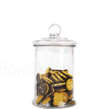 Δοχείο Αποθ BIG Αερ/γές Καπάκι 2,5 lt Γυαλί Διάφανο|SinoGlass