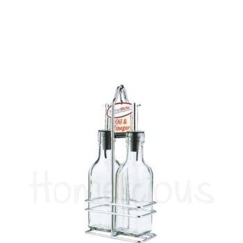 Λαδόξυδο 2 Θέσεων 175 ml Γυαλί Διάφανο|SinoGlass