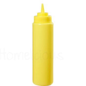 Δοχείο Squeeze Πλαστικό Κίτρινο|GTSA
