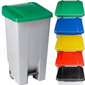 Κάδος Απορριμάτων 120 lt Πλαστικό|Denox