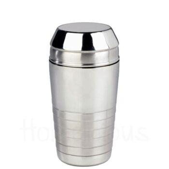 Shaker Με Αφροσυλλέκτη [Φ8|13,5 cm] 70 cl Inox Ασημί|GTSA
