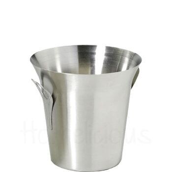 Σαμπανιέρα TULIP [Φ21,5|20 cm] Inox Ασημί|GTSA