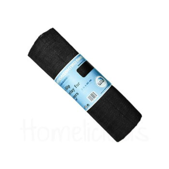 Αντιολισθητικό Πανί [0,6x5 m] 400 gr PVC Μαύρο|GTSA