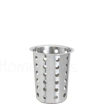 Κουταλοθήκη [Φ11,5|13 cm] Inox Ασημί|GTSA