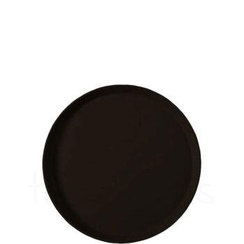 Δίσκος Σερβ Στρογγυλός Αντ/κός Fiberglass Μαύρο GTSA